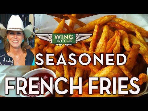 Seasoned French Fries – Restaurant Style