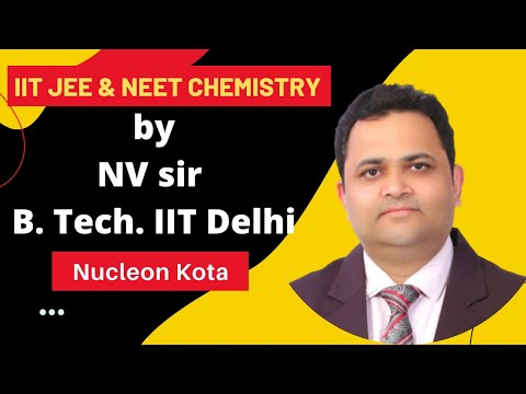 Best IIT JEE Chemistry Video On SOLID STATE By NV Sir @ Nucleon IIT JEE Kota
