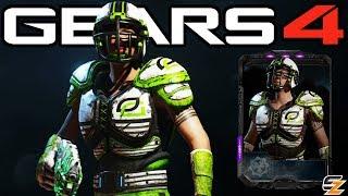 "Gears of War 4 - ""Optic Kait"" Character Multiplayer Gameplay! (Optic Gaming Esports DLC)"