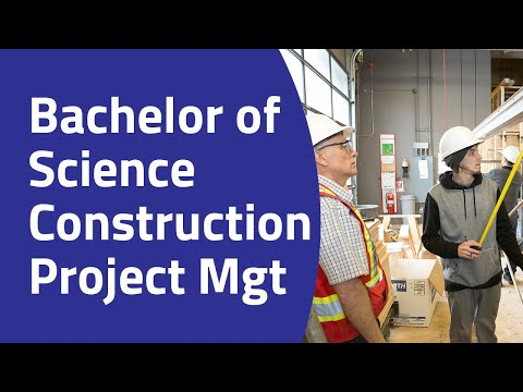 Bachelor Of Science Construction Project Management Degree