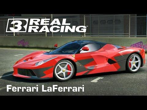 เกมส์รถแข่งสุดมัน Real Racing 3 - Ferrari Laferrari,Mount Panorama,Australia (ipad air 2)