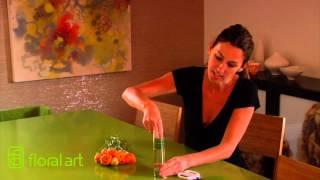 كيفية إنشاء براعم زهرية الترتيب