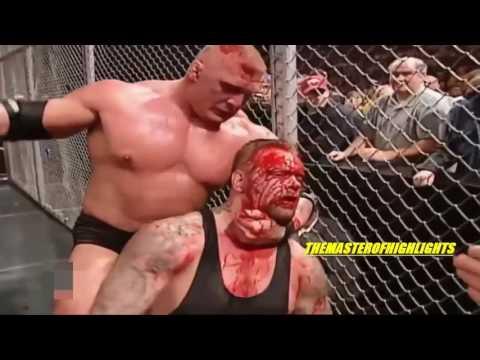 Brock Lesnar vs The Undertaker No Mercy 2002 Highlights HD