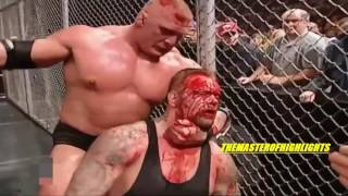 Brock Lesnar vs The Undertaker No Mercy 2002 Highlights HD