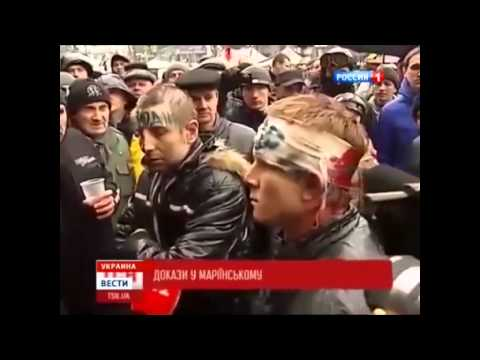 Brainwashing on Russian TV: Ukraine is in total anarchy. (English subtitles)