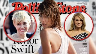 "Taylor Swift Wrote ""Bad Blood"" About Carrie Underwood OR Miley Cyrus?"
