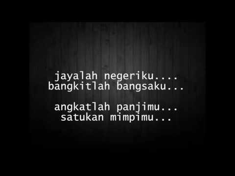Indonesia Jaya feat fatin and friend (lirik)
