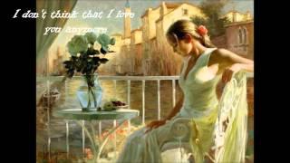 Hoobastank - I Don't Think I Love You lyrics