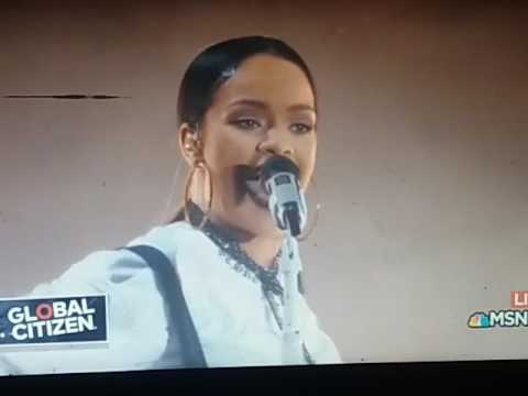 Rihanna Love On the Brain | Live at Global...