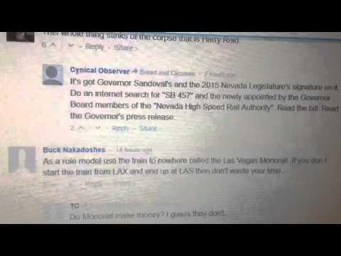 Chinese to build Super Train Las Vegas to California