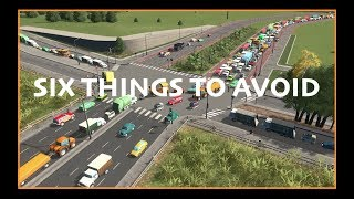 SIX THINGS TO AVOID IN CITIES SKYLINES From A Town Planner