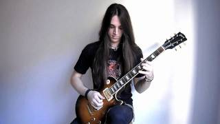 Arch Enemy - Bury Me An Angel Cover (Solo) Garrett Peters