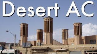 Hoe doen mensen in de woestijn koel bewaren zonder AC?