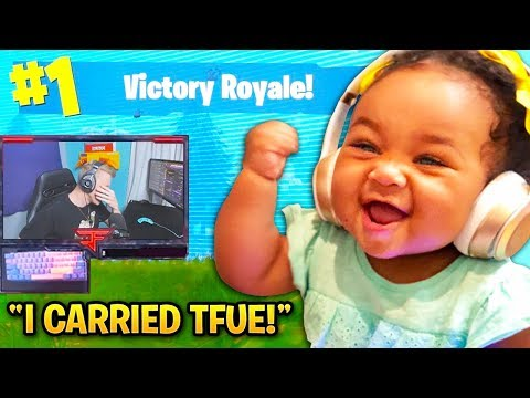 CUTEST KIDS Who Played with Fortnite STREAMERS! (Tfue, Ninja, Muselk)