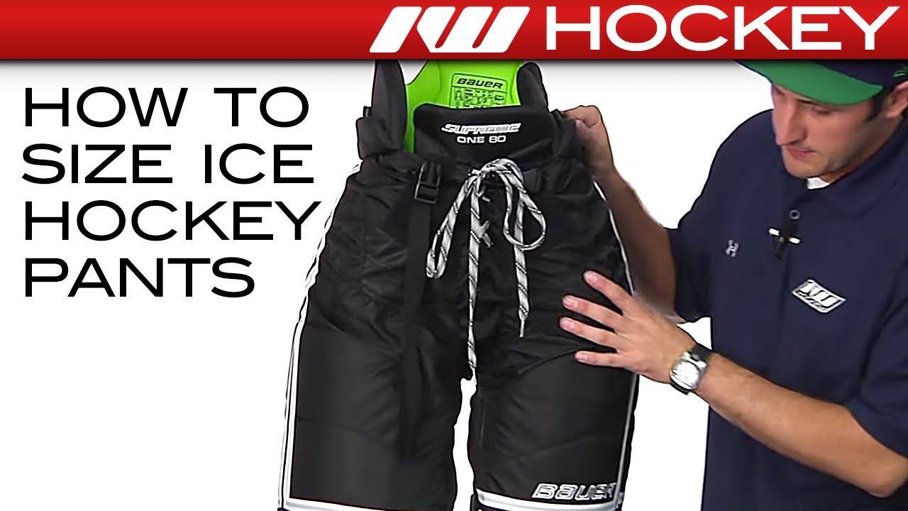 also how to size ice hockey pants youtube rh
