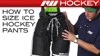 How to Size Ice Hockey Pants