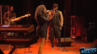 Shanice & B.Slade - I Get Lonely Janet Jackson cover (Bethesda Blues Club 8-24-17)