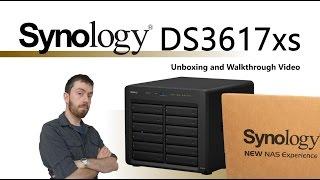 The Synology DS3617xs NAS 12-Bay Desktop Enterprise Unboxing and Walkthrough