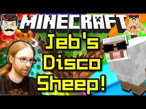 Minecraft Jeb S Secret Disco Sheep Youtube