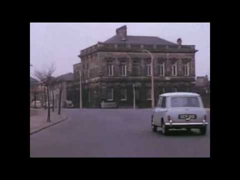 A car journey around Halifax West Yorkshire in 1960 West Riding Calderdale