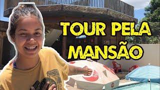 TOUR PELA MANSAO QUE ALUGAMOS, DIA DE DIVERSÃO! | VLOG