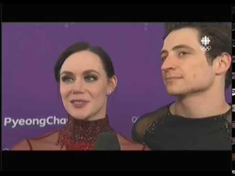 Tessa Virtue & Scott Moir Interview