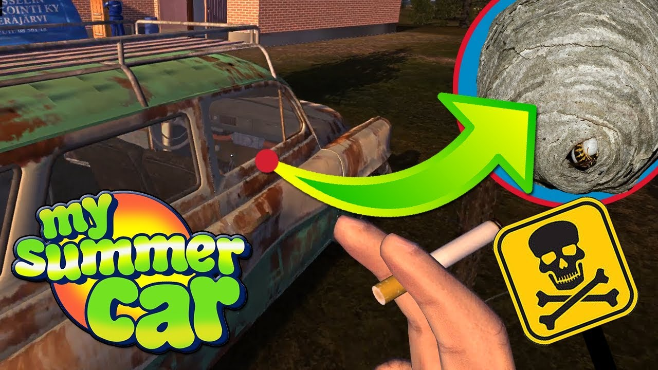 ATAK Z GNIAZDA SZERSZENI – My Summer Car #95