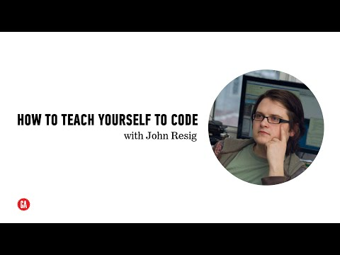 General Assembly: How to Teach Yourself to Code with John Resig