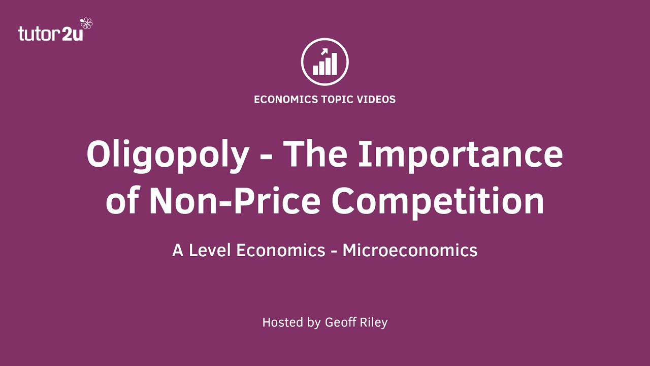 price vs non price competition