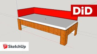 SU13. Drewniane łóżko narożne z oparciem tapicerowanym