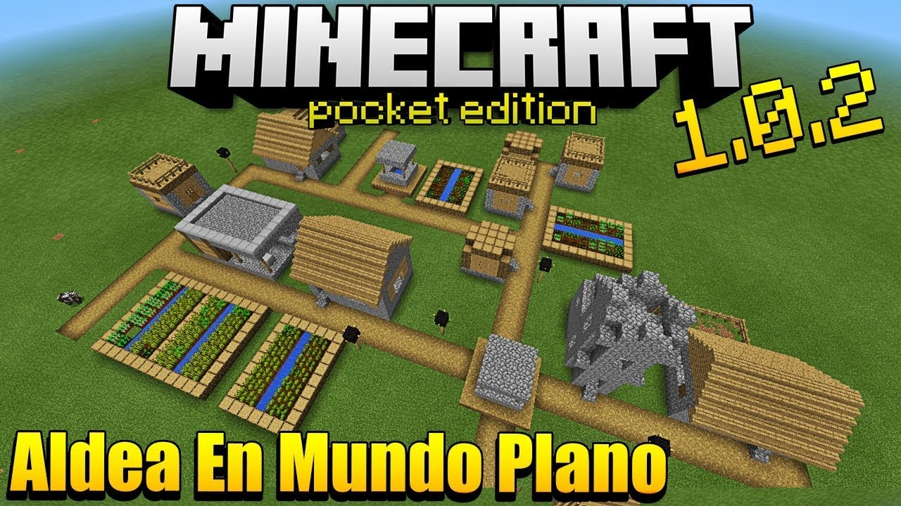 Me Paso Minecraft En Un Mundo Plano Youtube