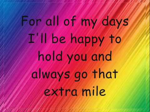Say Anything-Marianas Trench(with lyrics) - VidInfo