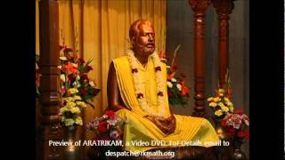 Sri Ramakrishna Aratrikam - Ramakrishna Math - Video DVD Preview