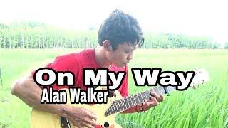 On My Way - Fingerstyle Guitar Cover | Alan Walker, Sabrina Carpenter, Farruko| Soundtrack PUBG