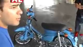 moto hippy racing honda c50 takegawa xl magazine interview