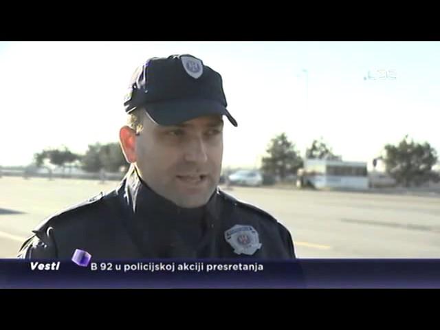 Policijski presretači na putevima