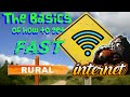 The Basics of getting Fast Rural Internet!