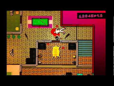 The Unemployed Gamer Plays HOTLINE MIAMI