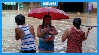 Veel schade door orkaan op de Filipijnen