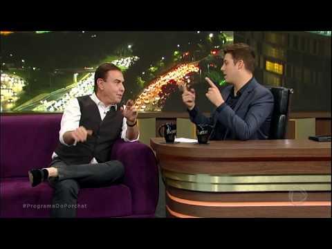 Amaury Jr. fala sobre entrevista com Temer em seu programa de estreia