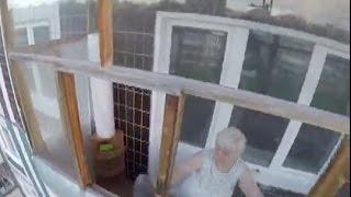 yarcube.ru — мальчик запер бабушку на балконе