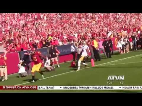 Rachel Kohn USC Notre Dame Football Package