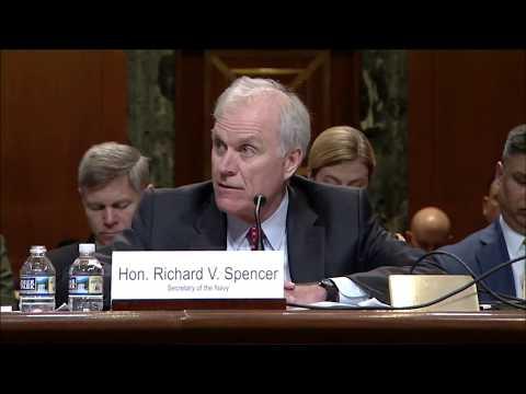 Senator Murkowski Questions Richard Spencer, Secretary of the Navy, on the Northern Edge Exercise