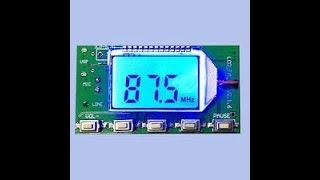 FM Transmitter for Christmas Light Display - Part 2 -  DSP PLL Digital FM Transmitter Module