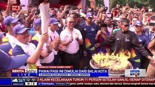 Download Video Pawai Obor Asian Games dari Balai Kota ke Danau Sunter MP3 3GP MP4