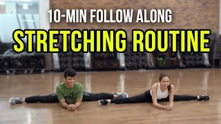 10-MIN SPLITS STRETCHING ROUTINE FOR MARTIAL ARTS | Ft. Donavan Barrett