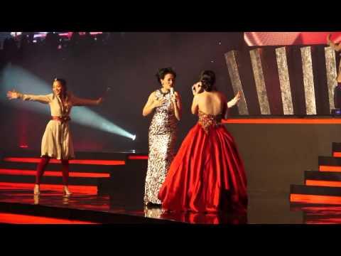 "Putri Ayu Feat Lea Simanjuntak "" Edge Of Glory """