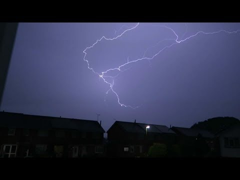 Thunder bolts and lightening. July 19 2017 West Sussex. Trueno