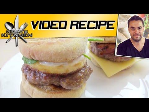 How to make Breakfast Burgers