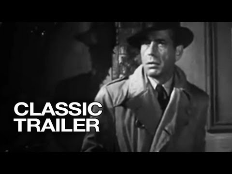 The Big Sleep Official Trailer #1 - Humphrey Bogart, Lauren Bacall Movie (1946) HD